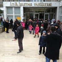 Photo taken at İşletme Fakültesi by by y. on 1/12/2013