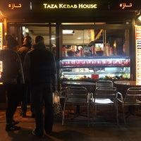 Photo taken at Taza Kebab House by Lorena R. on 4/6/2016