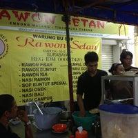 Photo taken at Rawon Setan by Redi H. on 4/23/2013