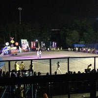 Photo taken at Rosario Sports Arena by Viabelle R. on 4/19/2014