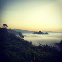 Photo taken at จุดชมวิวเขาสก ทล.401 กม.112 by badztua on 1/26/2013