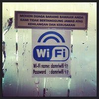 Photo taken at Terminal DAMRI Gambir by Haze J. on 1/9/2013
