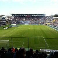 Photo taken at Club Brugge K.V. by Arne D. on 1/27/2013