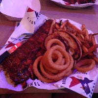 Photo taken at Texas Tony's BBQ Shack by Rachel L. on 10/26/2013