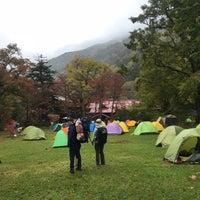 Photo taken at Tokusawa Campsite by Fujihiro K. on 10/7/2017