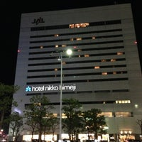 Photo taken at Hotel Nikko Himeji by Fujihiro K. on 12/8/2012