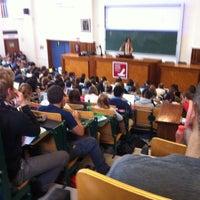 Photo taken at Université Saint-Louis by Pauline T. on 11/21/2012