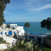 Photo taken at Sidi Bou Said by Vera M. on 5/10/2014