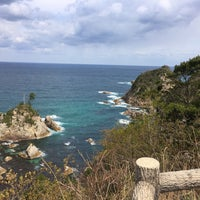 Photo taken at Uradome Coast by きたっかぜ on 3/24/2017
