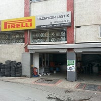 Photo taken at PIRELLI - HACI AYDIN LASTİKÇİLİK by Harun Y. on 1/30/2014