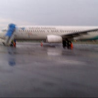 Photo taken at Sultan Thaha Syaifuddin Airport (DJB) by Kiky on 10/29/2012