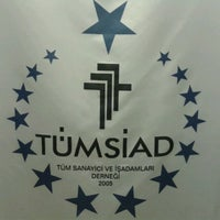 Photo taken at TÜMSİAD Mersin by dr i. on 2/19/2013