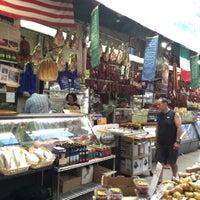 Photo taken at Arthur Avenue Retail Market by Marija V. on 9/1/2015