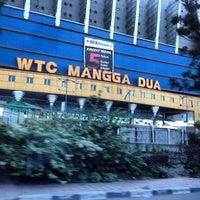 Photo taken at WTC Mangga Dua by Felix S. on 3/6/2013