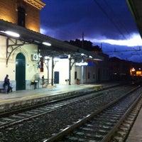 Photo taken at Stazione FS Bagheria by Tiziano V. on 12/2/2012