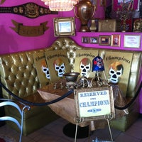 Photo taken at Lucha Libre by Troy P. on 5/4/2013