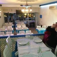Photo taken at Karina Balık Restaurant by Tugce Ş. on 3/21/2013