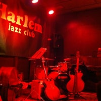 Photo taken at Harlem Jazz Club by Julia F. on 11/21/2012