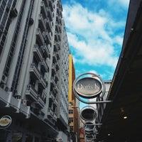 Photo taken at Rua Vidal Ramos by Danielle P. on 7/22/2014