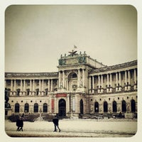 Photo taken at Austrian National Library by banu c. on 2/26/2013