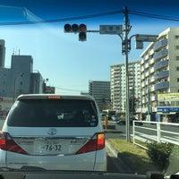 Photo taken at 日曹橋交差点 by Papa P. on 11/13/2016