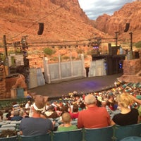 Photo taken at Tuacahn Amphitheater by Demarie B. on 7/27/2013