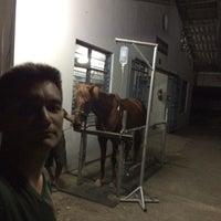 Photo taken at โรงม้าป่วย ผสว.ศม. by Anurak K. on 4/3/2014