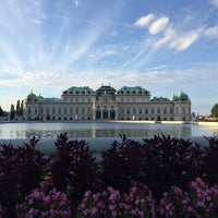 Photo taken at Palais Schwarzenberg by Николай Б. on 8/25/2014