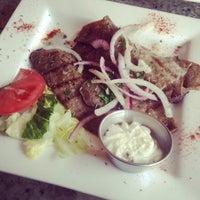 Photo taken at Omonia Restaurant by Andrew R. on 4/10/2014