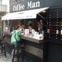 Photo taken at Coffee Man by Andrés R. on 2/5/2013