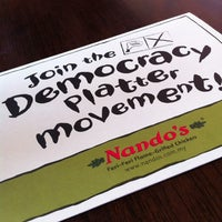Photo taken at Nando's by ShahMZ on 12/27/2012