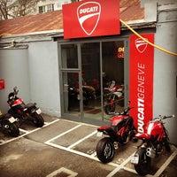 Photo taken at Ducati Geneve by Yevgen R. on 1/24/2013