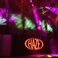 Photo taken at HAZE Nightclub by Brian G. on 11/10/2012