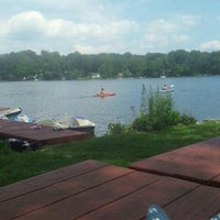 Photo taken at Amston Lake by Toree I. on 7/29/2013