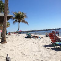 Photo taken at Cape Coral Beach at Yacht Club Community Park by Vita Marie on 2/2/2013