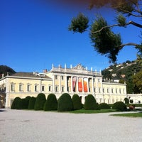 Photo taken at Villa Olmo by Stefano D. on 10/20/2012