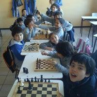 Photo taken at Colegio Domus Mater by Juan M. on 10/29/2012