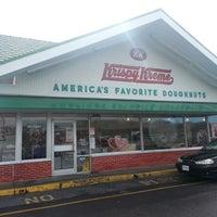 Photo taken at Krispy Kreme Doughnuts by Tony T. on 2/8/2013