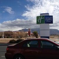 Photo taken at Holiday Inn Express & Suites Albuquerque-N. Balloon Fsta Pk by Amanda V. on 2/20/2013