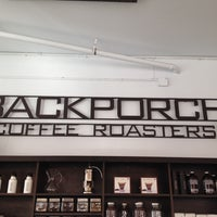 Photo taken at Backporch Coffee Roasters by Radam B. on 3/14/2014