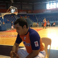 Photo taken at Fil-Oil Flying V Arena by Carlo S. on 11/27/2012