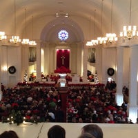 Photo taken at Central United Methodist Church by Taylor L. on 12/24/2013