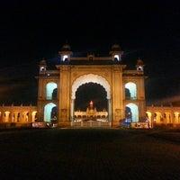 Photo taken at Jagan Mohana Palace by Eric F. on 12/28/2013