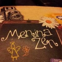 Photo taken at Menina Zen by Camila O. on 7/13/2013
