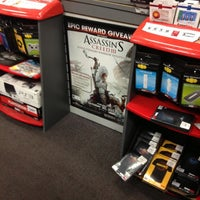 Photo taken at GameStop by Brian H. on 10/30/2012