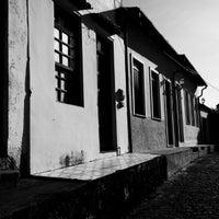 Photo taken at Escadaria da Igreja D'Ajuda by Marcos M. on 4/13/2014