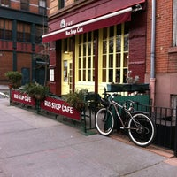 Photo taken at Bus Stop Cafe by DebraT3 on 1/25/2013
