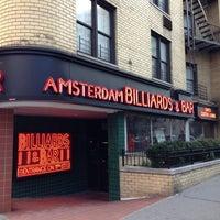 Photo taken at Amsterdam Billiards & Bar by AlexT4 on 2/6/2013
