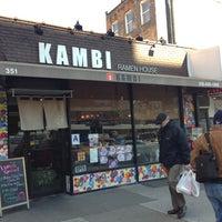 Photo taken at Kambi Ramen House by AlexT4 on 1/18/2013