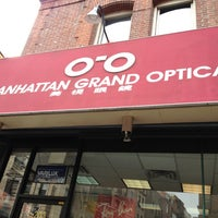 Photo taken at Manhattan Grand Optical by AndresT5 on 1/25/2013